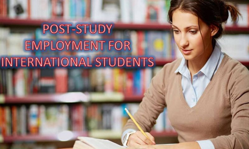 Post Study Employment For International Students